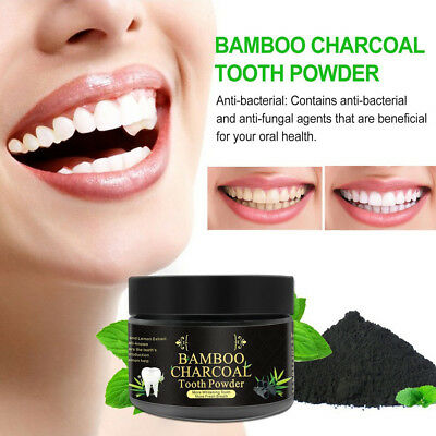 Activated Charcoal Teeth Whitening 100% Organic bamboo Powder Carbon 2018