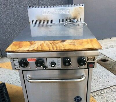 GOLDSTEIN Commercial Oven and 4 Burner Stove