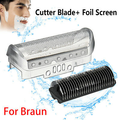 Shaver Replacement Foil & Cutter Blade for Braun 10B/20B 180 190 1775 1735 2675