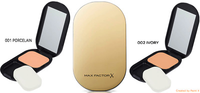 RRP £12 NEW Max Factor facefinity compact foundation 001 002 + primawear