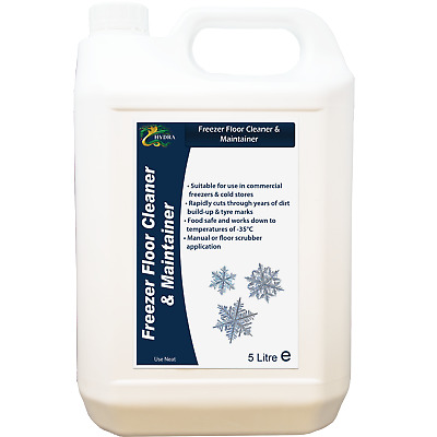 HYDRA FREEZER FLOOR CLEANER & MAINTAINER For Commercial Freezers & Cold Stores