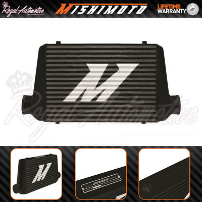 "Mishimoto G-line Universal Performance Aluminium Intercooler Black 3"" Core Turbo"