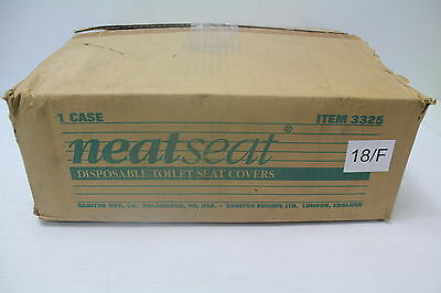 NeatSeat 3325 Disposable Toilet Seat Cover - 2,500 Cover Refills New
