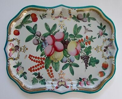 "Metropolitan Museum of Art ""Duke of Gloucester"" Tole Serving/Decorative Tray"