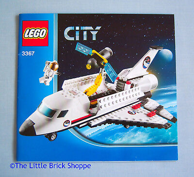 Lego City 3367 Space Shuttle Instruction Book Only No Lego
