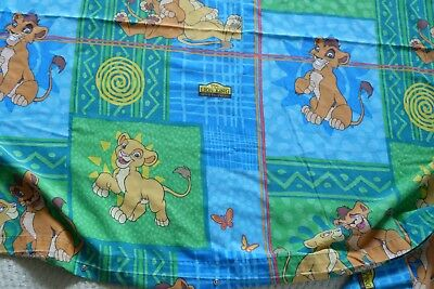 Vintage Lion King Simba's Pride Single Duvet Cover With Pillow Case