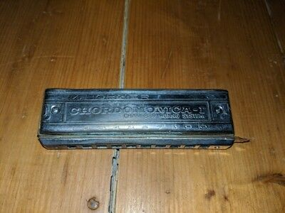 M. HOHNER CHORDOMONICA II HARMONICA VINTAGE RARE Made in Germany