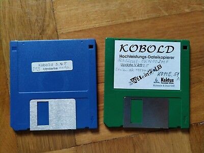 Atari ST/TT/Falcon Software - Kobold - Dateikopierer V3.5