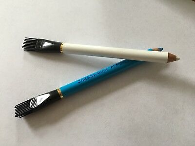 Tailors Chalk Pencils with Brush Choice of Colours Dressmaking Fabric Sewing