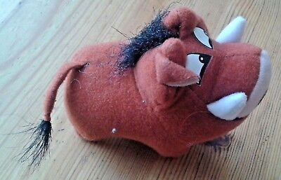 Disney's The Lion King Pumbaa soft toy, McDonalds?
