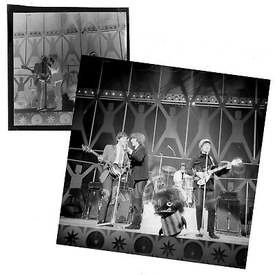 Original and Unseen BEATLES B&W Negative - 'Blackpool Night Out'