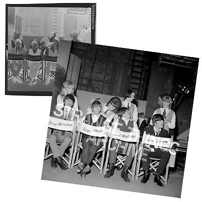 Original and Unseen BEATLES B&W Negative - 'A Hard Day's Night'