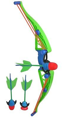 Kids Toy Bow And Arrow Soft Safe Foam Darts Nerf Guns Kids Shooting Game Gift