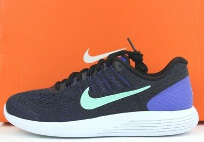 official photos 5d59c 801da NIKE WOMENS LUNARGLIDE 8 Shoes Sneakers Violet Black AA8677 500 NWB New Sz  7-10
