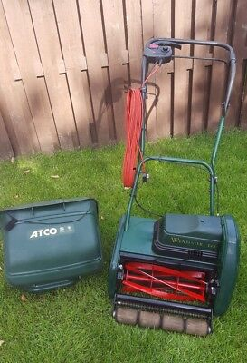 Atco Windsor 14s Electric Cylinder Mower Lawnmower 163 225