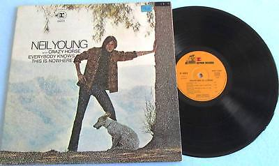 LP NEIL YOUNG with Crazy Horse - Everybody Knows This Is Nowhere Reprise 44073
