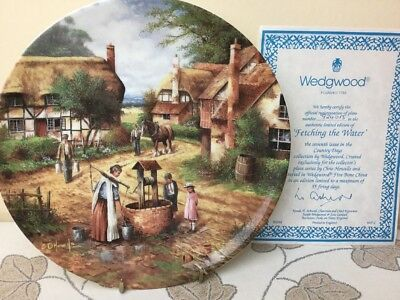 Wedgwood Country Days Chris Howells Fetching The Water Collectors Plate