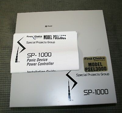 First-Choice PSEL 3000 Panic Hardware Device Power Controller Sp-1000