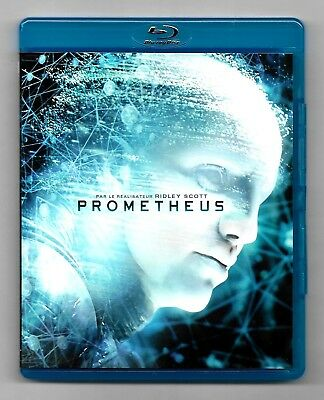 Blu-Ray Disc + Dvd / Prometheus - Film De Ridley Scott / Comme Neuf