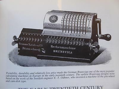 Calculating Machines Mechanical. Excellent Collectors Illustrated Reference Book