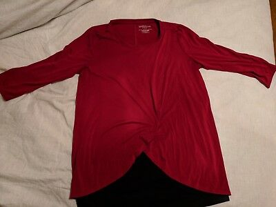 Motherhood maternity nursing shirt size large