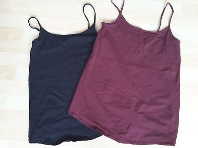 Next Maternity vest top and New Look bump band bundle size 12/size M/L