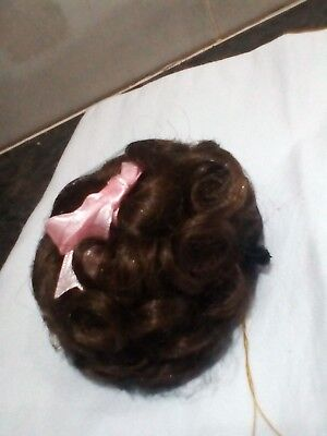 """Doll Wig - Molly - 8-9"""", Brown, Monique Collection BRAND NEW, Code 1"""