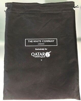 QATAR Airways Business Class Pyjama Schlafanzug - the white company Design 2018