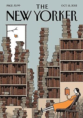 Print Art POSTER / CANVAS The New Yorker Cover Oct 2014