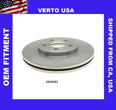 Verto USA Disc Brake Rotor Rear 53031X1