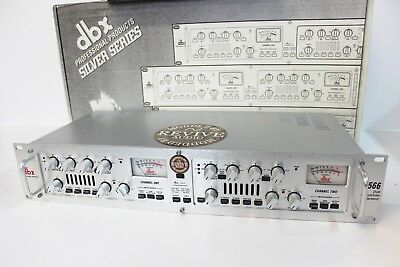 Revive Audio Modified: Dbx 566, Dual Channel Tube Compressor, Big Bottom End!