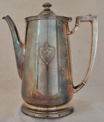 VTG The Conrad Hilton Chicago Hotel International Silverplate Coffee Tea Pot