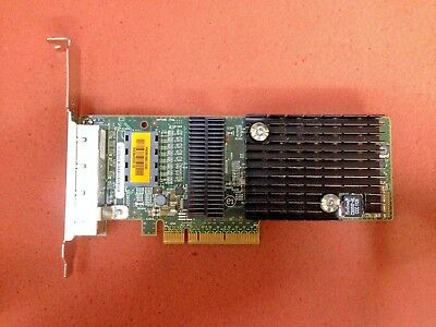 [LOT OF 2] Sun 4-Port Gigabit PCIe Ethernet LAN Card Adapter ATLS1QGE HP