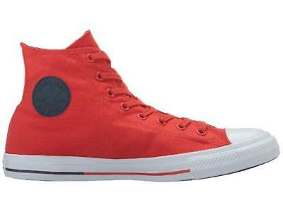 NWT-Mens Red Converse All Star Chuck Taylor Canvas Sneakers High Top Shoes-10 11
