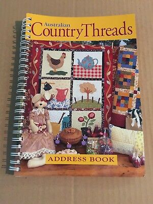 Australian Country Threads Address Book