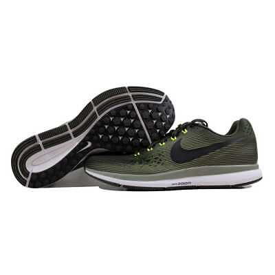 418bfc6318e7 NIKE AIR ZOOM Pegasus 34 Sequoia Black-Dark Stucco-Volt 880555-302 Men s SZ  11 -  58.53