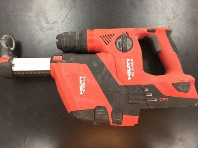 Hilti TE 4-A22 Cordless Rotary Hammer Drill + TE DRS-4-A BUNDLE No Charger