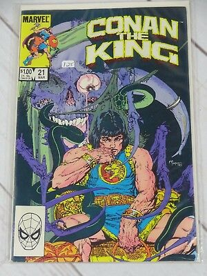 Conan the King  #21 March 1984 Marvel Comic Bagged and Boarded - C1943