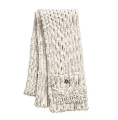Harley-Davidson Harley-Davidson Women's Button Accent Cable Knit Scarf
