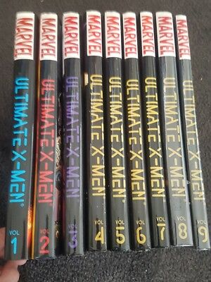 Ultimate X-men Marvel Oversived Hardcover Volumes 1-9 OHC HC