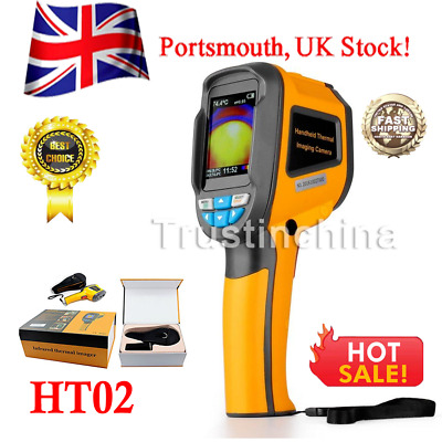 HT-02 Handheld Thermal Imaging Camera -20℃~300℃ IR Infrared Thermometer Image t