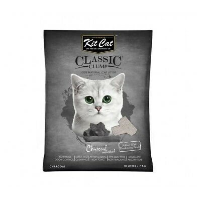 Kit Cat Bentonite Clumping Cat Litter with Silica Beads 10 litres