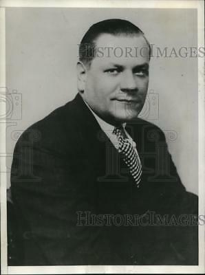 1932 Press Photo Lester Seymour President of the American Airways Corporation