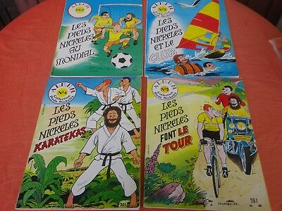 4 Albums Collection Pieds Nickeles 1983 Jacabo  St Michel Jicka
