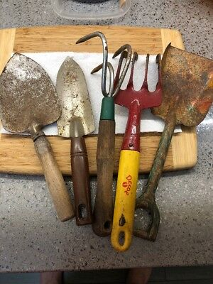 Vintage Antique Gardening Tools USA ENGLAND