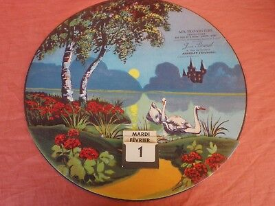 Calendrier Perpetuel Circa 1950 Confection Jean Brunel Annonay Adolphe Laffont