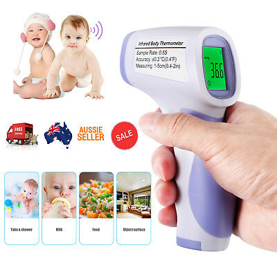 Non-contact Body Skin IR Infrared Thermometer Digital LCD Temperature Meter Test