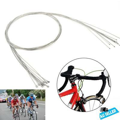 10PCS/Lot MTB Shift Shifter Derailleur Gear Stainless Steel Inner Cable Wire AU