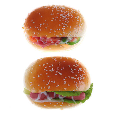 Hamburgers Fridge Magnet Stickers Office Whiteboard Magnets Squishy Room Decor