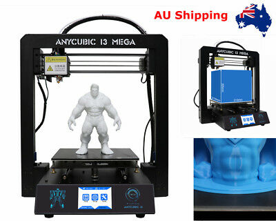 *AU STOCK* Anycubic I3 Mega 3D Printer Ultrabase All-Metal Frame Touch Screen